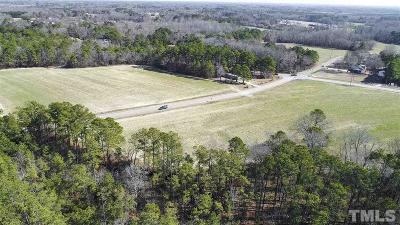 Wake County Residential Lots & Land Pending: 7800 Barefoot Road