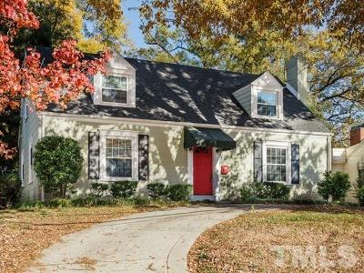 Wake County Single Family Home For Sale: 727 E Whitaker Mill Road