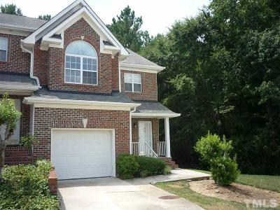 Cary Townhouse Contingent: 154 Grande Meadow Way