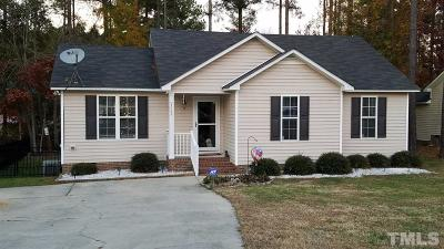 Knightdale Single Family Home For Sale: 3064 Van Dorn Road