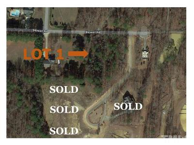 Wake County Residential Lots & Land For Sale: 400 Havenfield Court