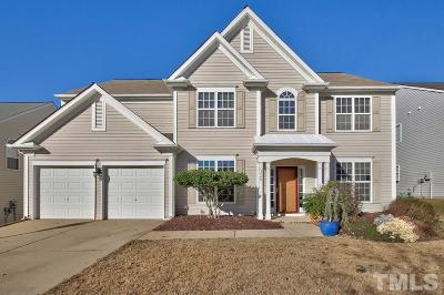 Wake County Single Family Home Contingent: 5448 Wind Mountain Lane