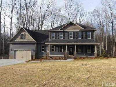Wendell Single Family Home For Sale: 594 Carsons Creek Trail #Lot 18