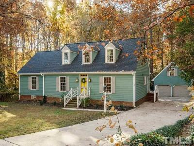 Cary Single Family Home Contingent: 516 Carolyn Court