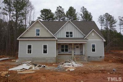 Youngsville Single Family Home For Sale: 180 Lockamy Lane