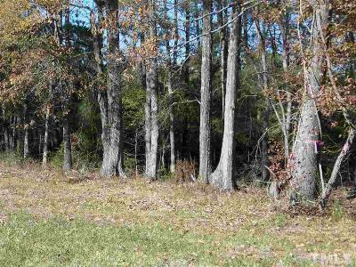 Creedmoor Residential Lots & Land For Sale: Sam Moss Hayes Road