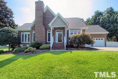Clayton Single Family Home For Sale: 200 Muirfield Lane