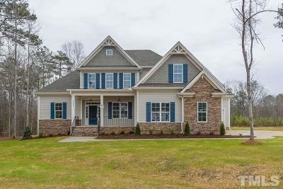 Wake Forest Single Family Home For Sale: 3821 Pickett Court