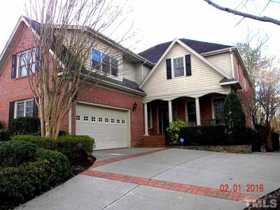Raleigh Single Family Home For Sale: 1845 Torrington Drive