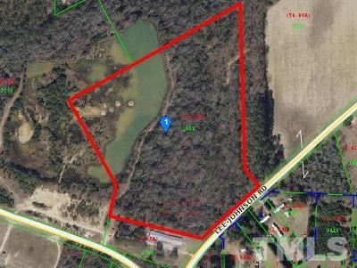 Johnston County Residential Lots & Land For Sale: 1100 Lee Johnson Road