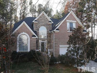Durham Single Family Home Contingent: 11 Piedmont Forest Court