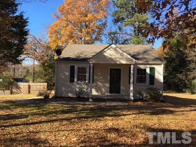Durham Single Family Home For Sale: 1101 Midland Terrace