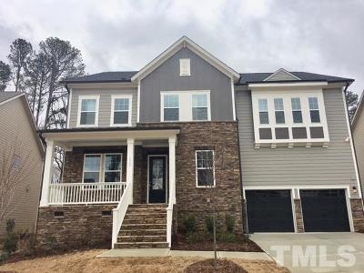 Cary Single Family Home For Sale: 1033 Dozier Way #121