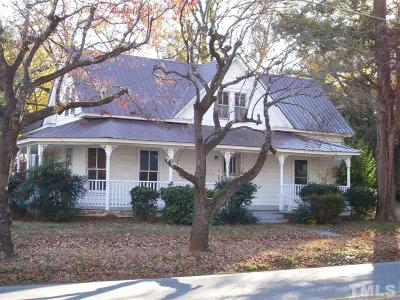 Siler City Single Family Home For Sale: 604 E Raleigh Street
