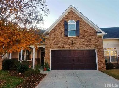 Morrisville Townhouse For Sale: 105 Honeycomb Lane