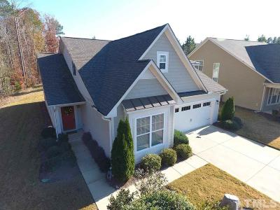 Clayton Single Family Home Contingent: 106 White Pine Drive