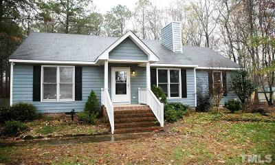 Clayton Single Family Home For Sale: 112 Chatham Court