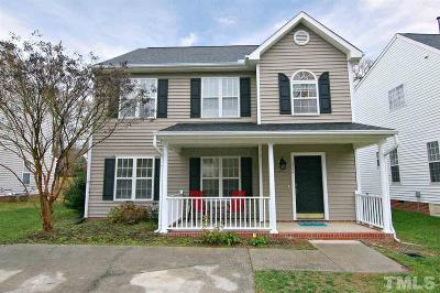 Raleigh Single Family Home Contingent: 1804 Crag Burn Lane