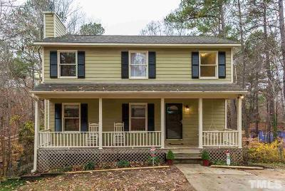 Cary Single Family Home For Sale: 106 Bishop Court