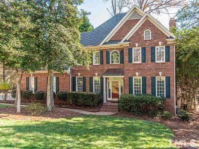 Holly Springs Single Family Home For Sale: 4709 Greenpoint Lane