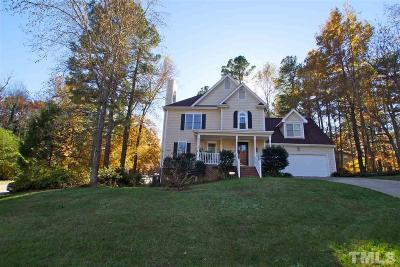 Wake Forest Single Family Home Contingent: 977 W Durness Court