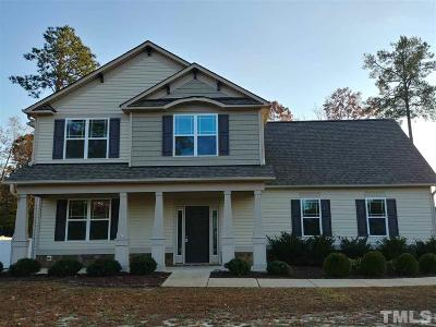 Johnston County Single Family Home For Sale: 15 Tramway Circle
