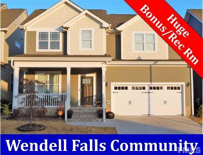 Wendell Single Family Home For Sale: 409 Big Branch Lane