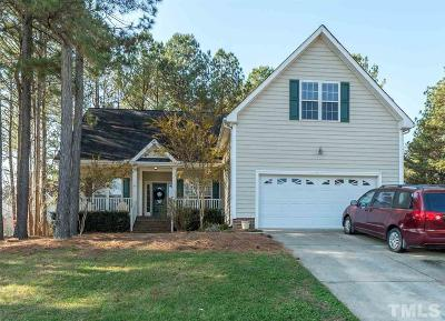 Wake Forest Single Family Home For Sale: 1351 Catrush Way