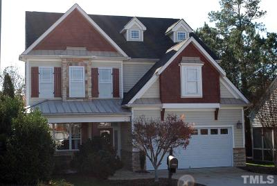 Raleigh Single Family Home For Sale: 3266 Landing Falls Lane