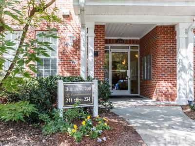 Chapel Hill Condo For Sale: 232 Providence Glen Drive #232