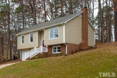Cary Single Family Home Contingent: 203 Wyatts Pond Lane