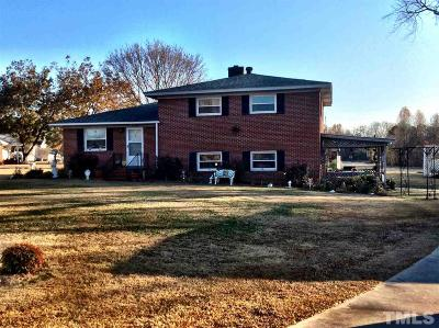 Harnett County Single Family Home For Sale: 1125 Friendly Road
