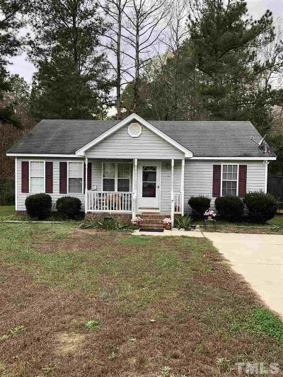 Knightdale Single Family Home For Sale: 5709 Presentation Street