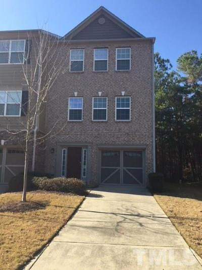 Apex Townhouse For Sale: 200 High Ramble Lane