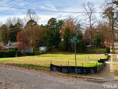 Wake County Residential Lots & Land Pending: 3103 Ruffin Street