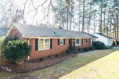 Wake County Single Family Home For Sale: 3034 Plantation Road