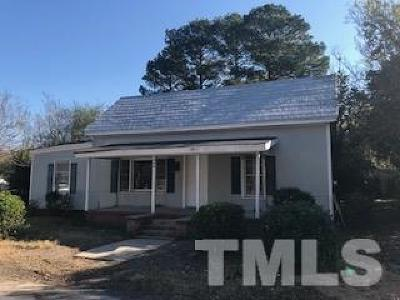 Smithfield Single Family Home For Sale: 406 N 11th Street