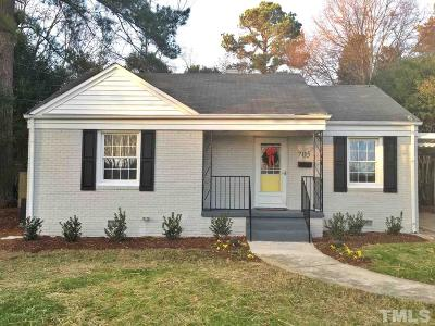 Raleigh Single Family Home For Sale: 705 Brighton Road