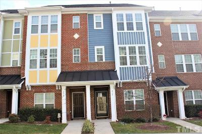 Cary Townhouse For Sale: 234 Michigan Avenue