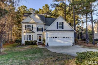 Garner Single Family Home Contingent: 4637 Barrington Hills Lane