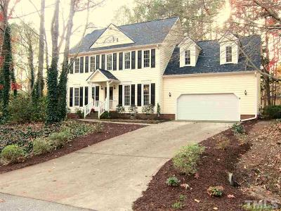 Apex Single Family Home Pending: 4101 Summer Ridge Court