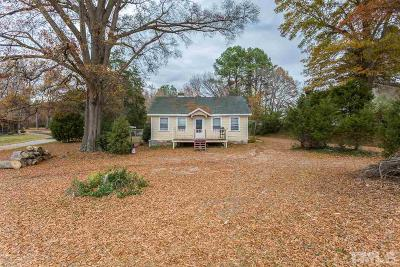 Durham Single Family Home For Sale: 3215 Wake Forest Highway
