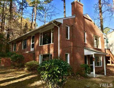 Chapel Hill Single Family Home Contingent: 424 Brookside Drive