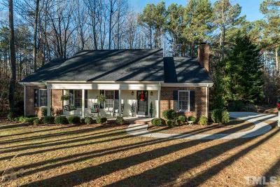 Fuquay Varina Single Family Home For Sale: 205 Pine Burr Street
