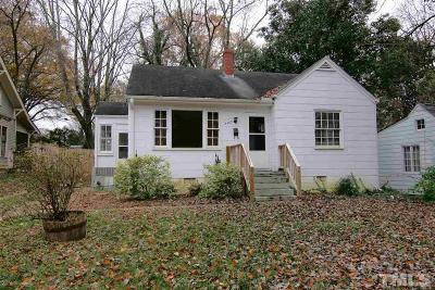 Raleigh Single Family Home For Sale: 2409 Van Dyke Avenue