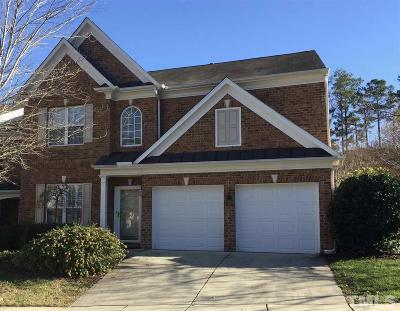 Raleigh NC Townhouse For Sale: $390,000