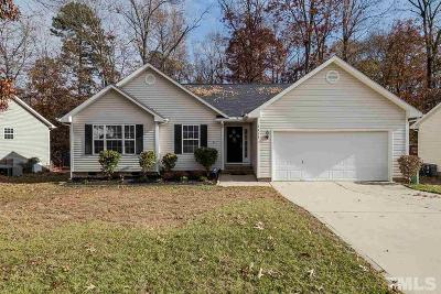 Fuquay Varina Single Family Home Contingent: 1410 Poplar Ridge Road