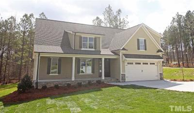 Raleigh Single Family Home For Sale: 6009 Yankee Street #Lot 14