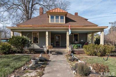 Franklinton Single Family Home For Sale: 217 N Main Street
