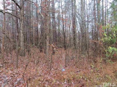 Durham County Residential Lots & Land For Sale: 126 Abbott Lane